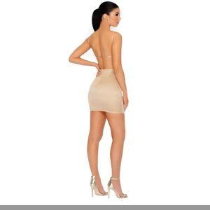 99e172e18e oh polly Dresses - Oh Polly NWT! Cutting shapes satin mini dress